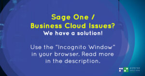 Sage Business Cloud Accounting Issues and Work-around - Feb 2021